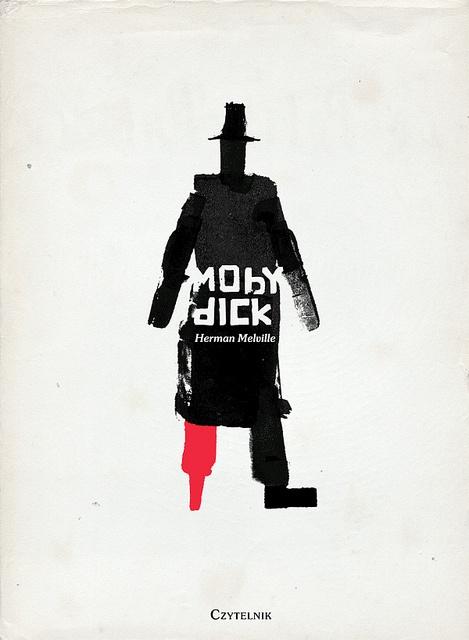 Emmanuel Polanco, Moby Dick  Polish Book Cover