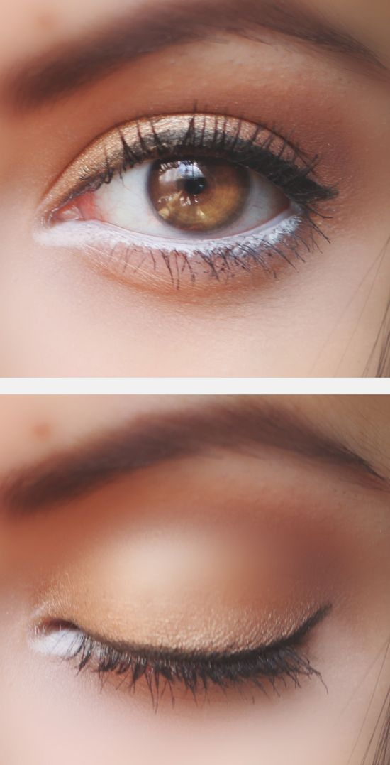 Half baked & Tease from the NAKED 2 palette. #makeup #eyes #browneyes #pretty