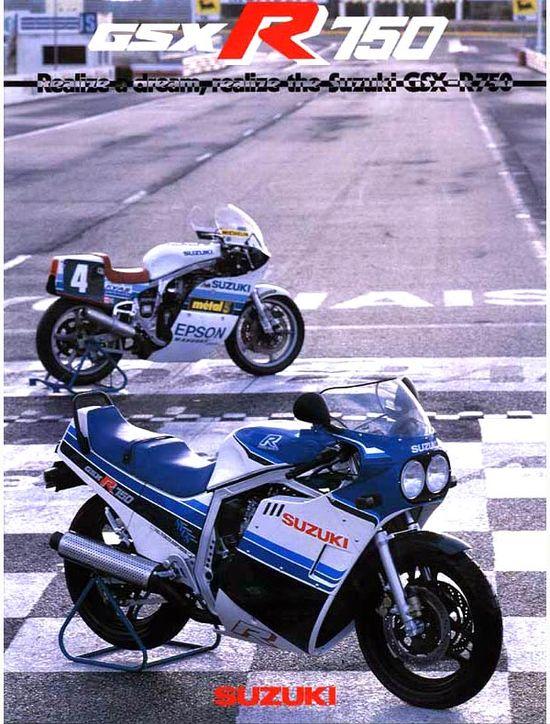 The original... 1985 Suzuki GSX-R 750. #Motorcycle #Sportsbike #Suzuki
