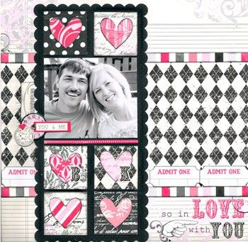 Echo Park Layout #scrapbooking