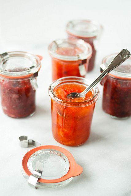 Fresh Fruit Jams: Fig & Peach by TreatsSF, via Flickr