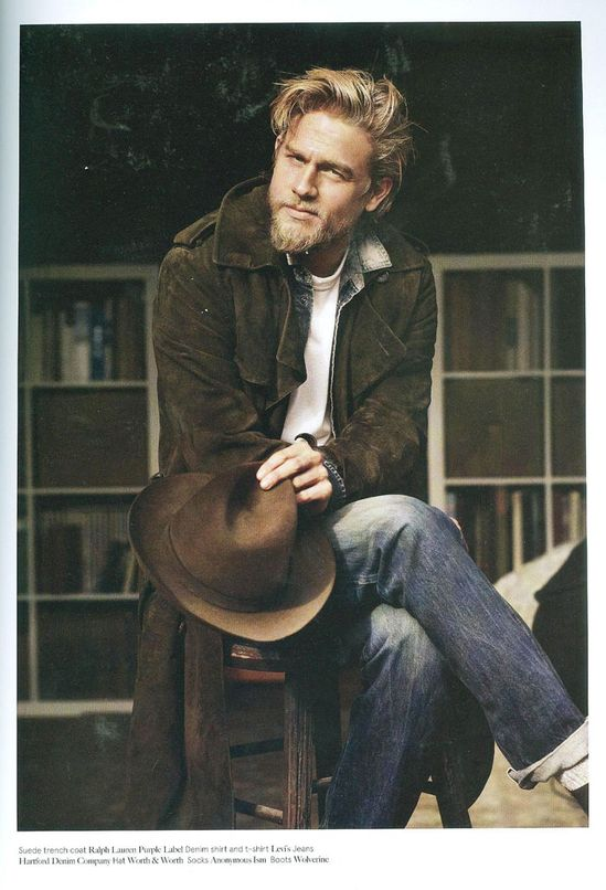 Charlie Hunnam (photo credits unknown)