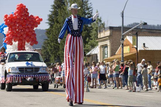 July 4th celebration parade