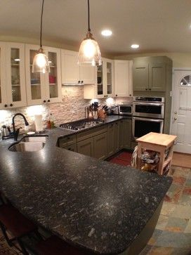 Brandon Butler's kitchen before and after