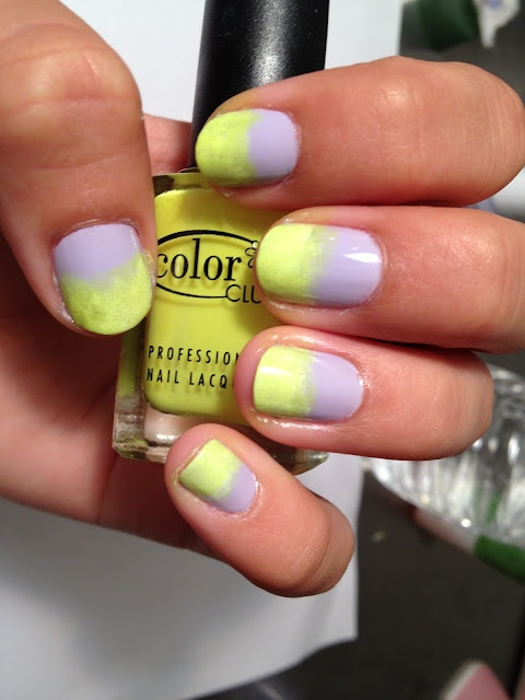 Neon Ombre Nail how-to!