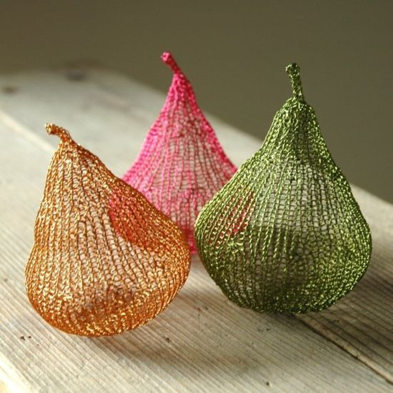 crocheted wire