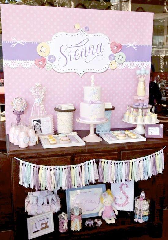 Cute as a Button 1st Birthday Party Full of REALLY CUTE Ideas via Kara's Party Ideas