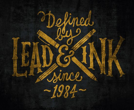 Lead And Ink by Jay Roeder