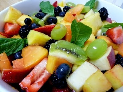 Eat a Rainbow: Fresh Fruit Salad