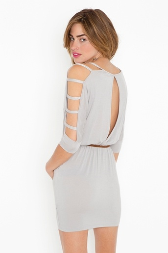 cool back of the dress!
