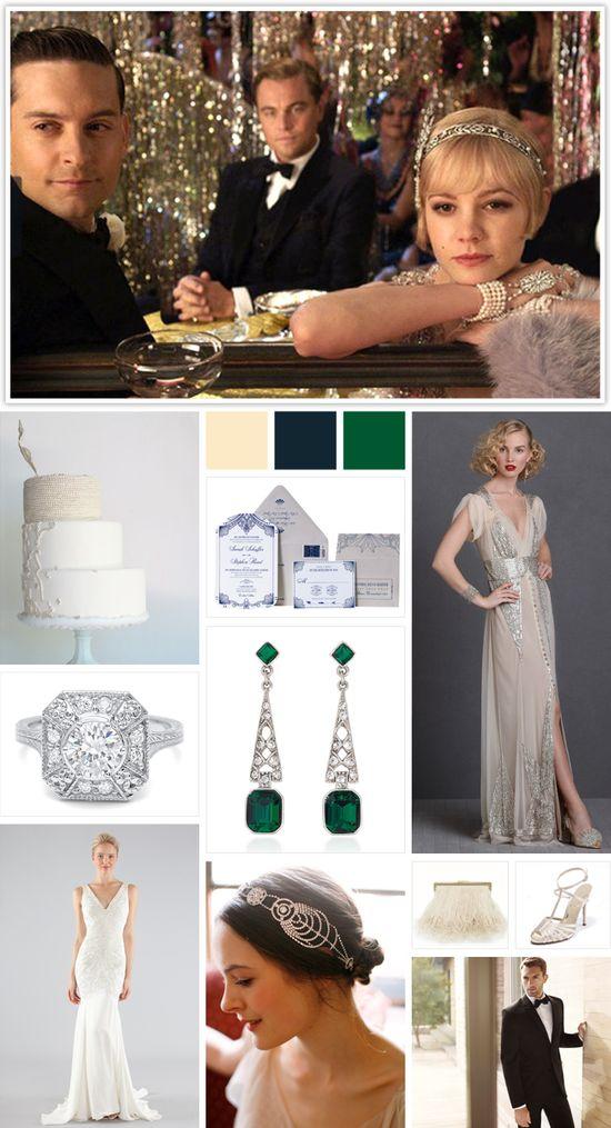 10 Great Gatsby Wedding Ideas (You Can Actually Buy)