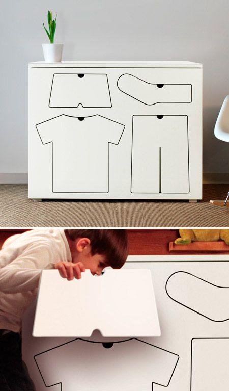 Shape drawers, so cute!