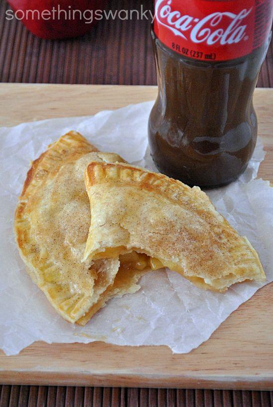 Copycat recipe - Taco Bell Caramel Apple Empanada  #copycat