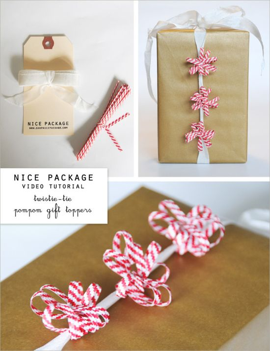 Adorable #gift #wrapping. #video #tutorial