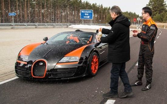 Bugatti Veyron Grand Sport Vitesse is World's Fastest Convertible, Hits 254 MPH - WOT on Motor Trend