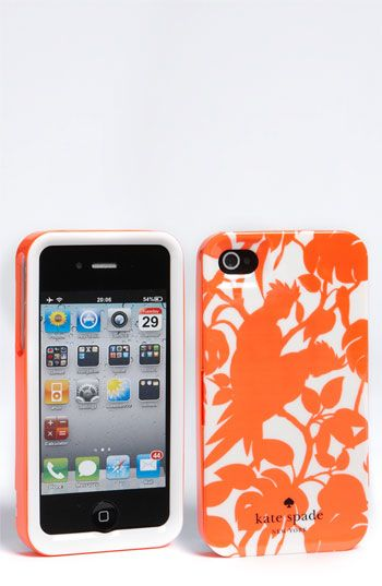 kate spade new york 'cockatoos' iPhone 4 & 4S case
