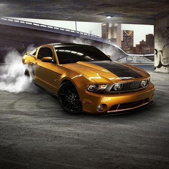 Pure American Muscle: Mustang GT