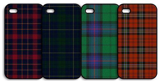 tartan i-phone covers