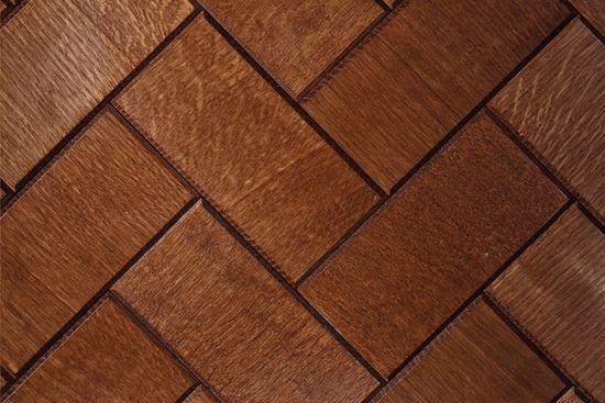 wood floor tiles by Jamie Beckwith.