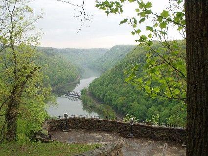 Hawks Nest State Park, West Virginia