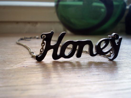 Sweet as 'honey' necklace  - $11.99