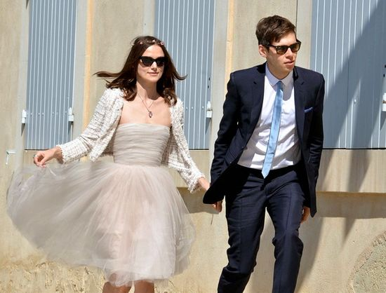 Keira Knightley and Janmes Righton Wedding Photos