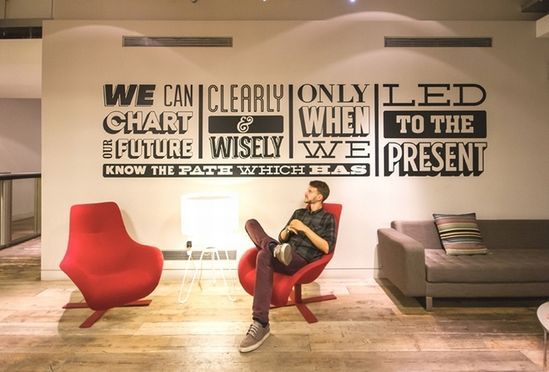 Sony Music Timeline by Alex Fowkes, London office design
