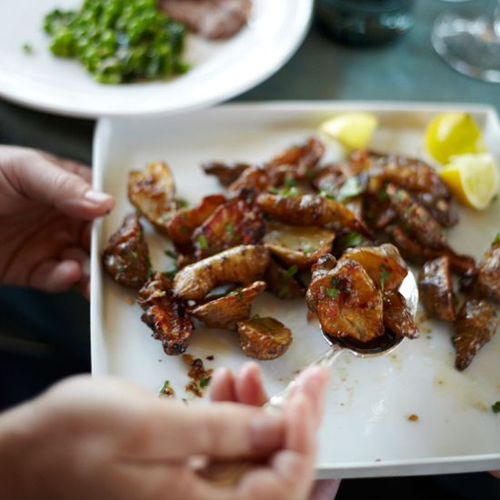 Roasted Sunchokes with Buttery Bagna Cauda // More Recipes for Spring Produce: www.foodandwine.c... #foodandwine