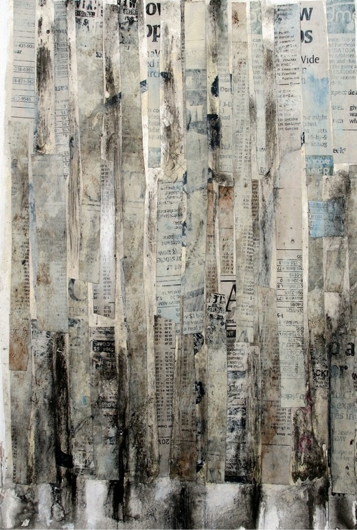 """Saatchi Online Artist: Scott Bergey; Assemblage / Collage, 2012, Mixed Media """"More, More, More"""""""