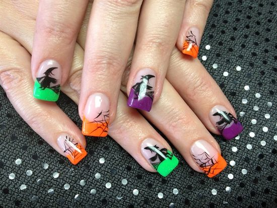 Halloween nails - Nail Art Gallery by NAILS Magazine