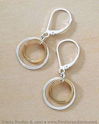 freshie and zero handmade jewelry - glow earrings
