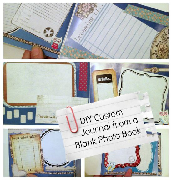 Tutorial: Custom Journal from Blank Photo Book