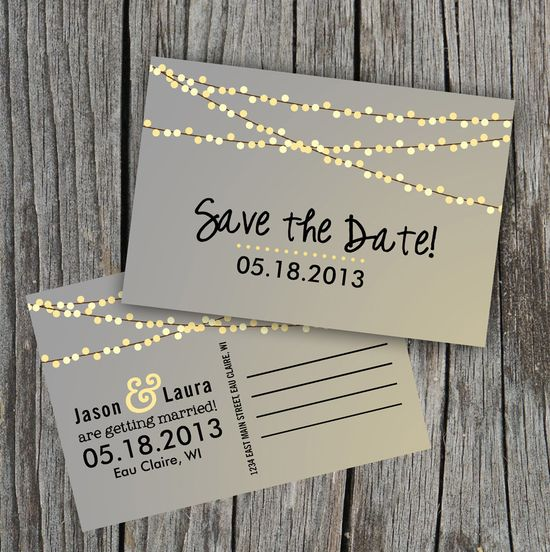 this save the date is so cute!