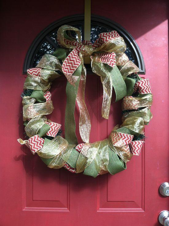 My hand made wreath!