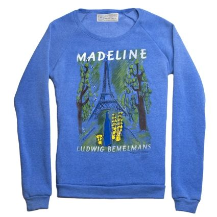 Madeline book cover fleece