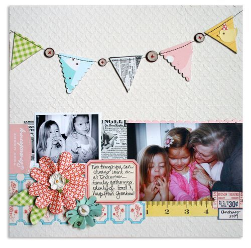 A really beautiful layout from Lisa Dickinson