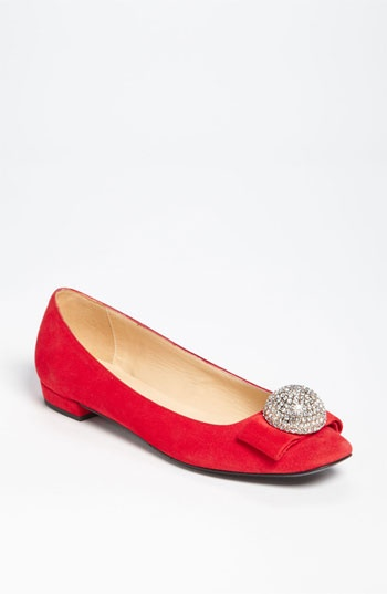 Night Out: kate spade new york 'nadira' flat #Nordstrom #Holiday