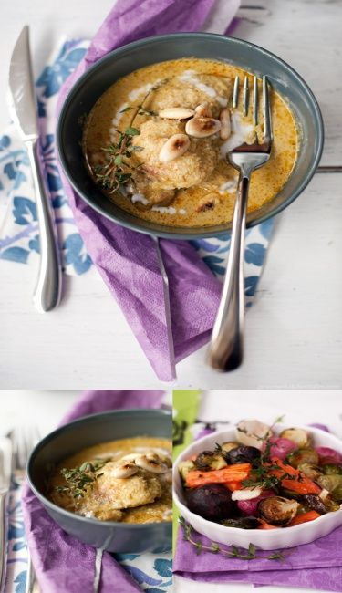 Prince-like Chicken Curry with Roasted Almonds - Paleo