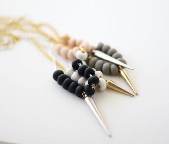 spike necklaces