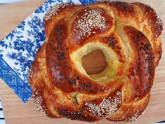 Coconut Challah Bread