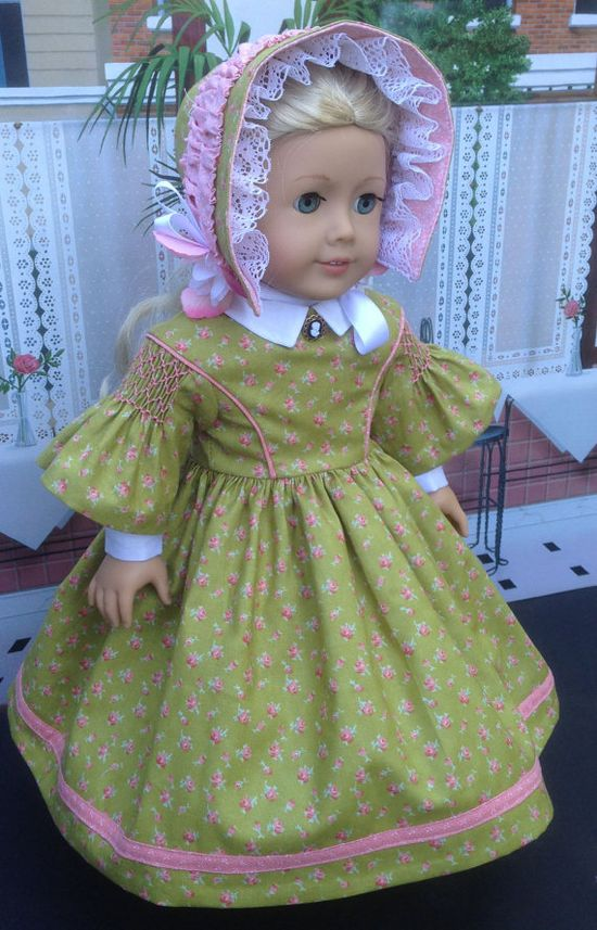 American Girl Historical Civil War Dress by mybonbonboutique, $95.00