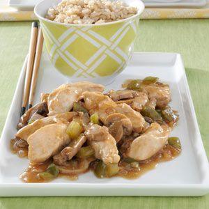 Saucy Chicken Strips Quick Dinner