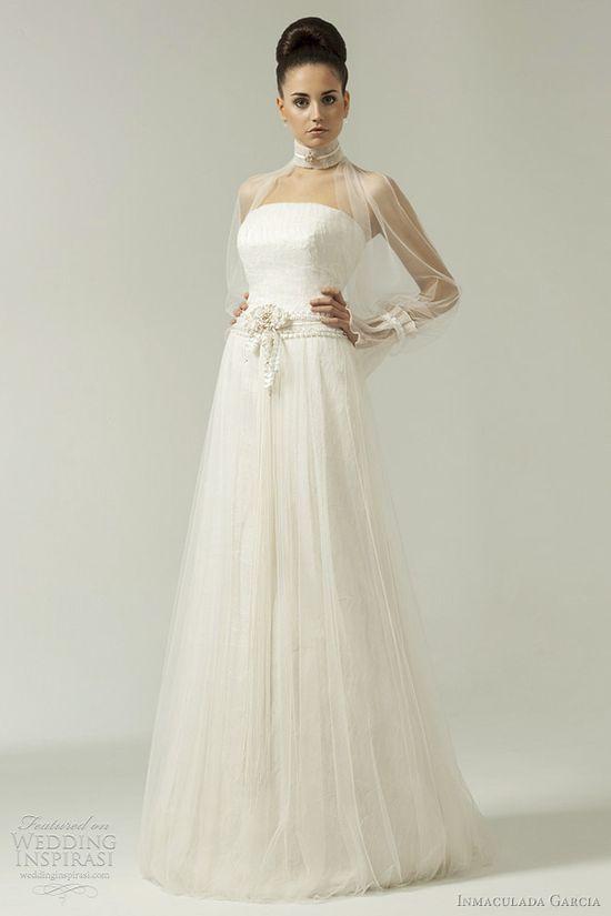 inmaculada garcia 2012 wedding dress