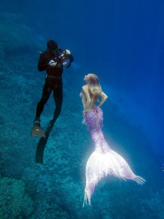 I wish mermaids were real! There so cool!!