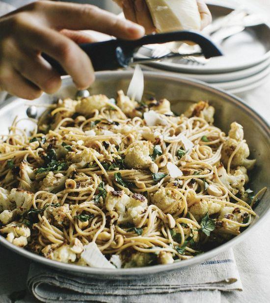 Healthy recipe: Roasted cauliflower capellini - Chatelaine.com