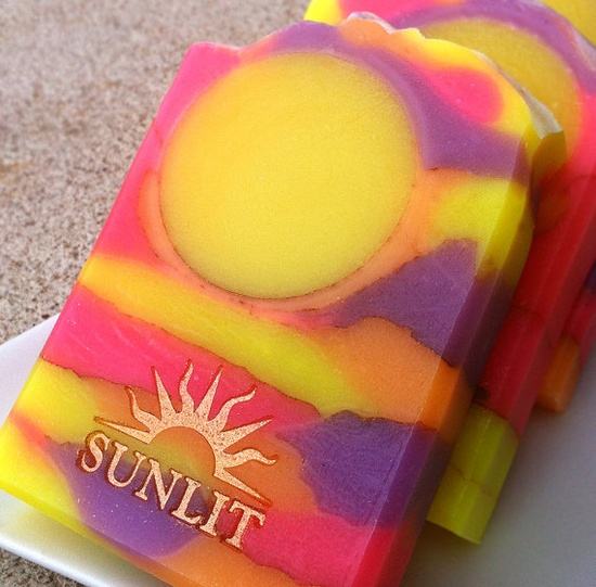 Handmade Soap  Artisan Soap  Cold Process Soap  by Sunlitsoap, $6.50
