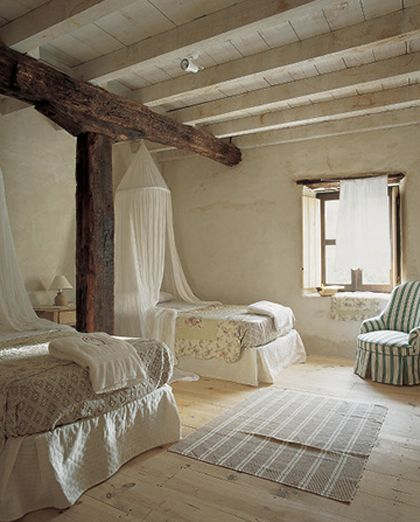 bedroom #cottage #country #interiors #decor