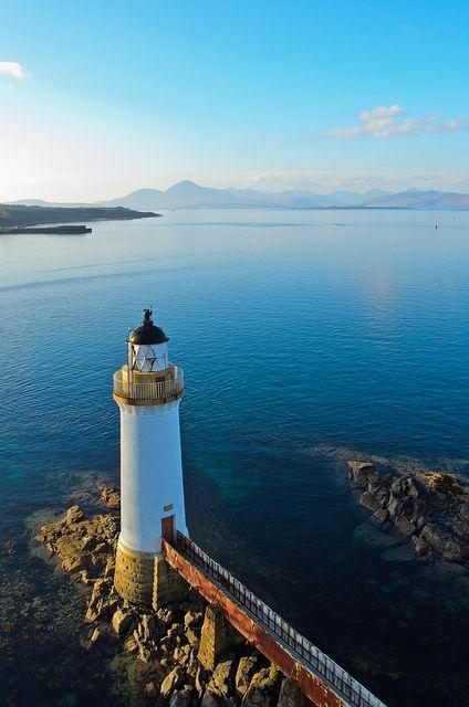 Eilean Bhan lighthouse, Kyle of Lochalsh, Scotland