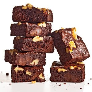 Classic Fudge-Walnut Brownies from The New Way to Cook Light