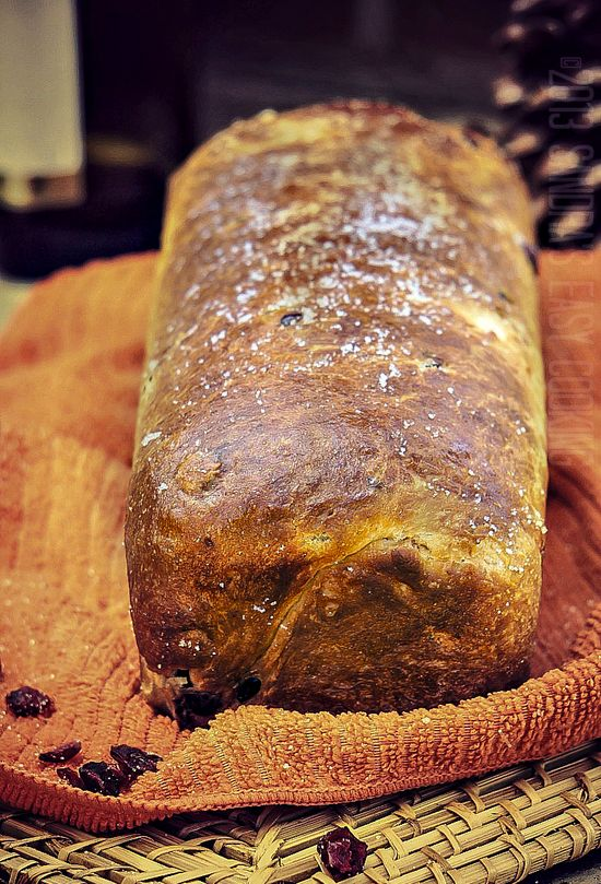 Cranberry Bread with Sweet Potato Filling @SECooking